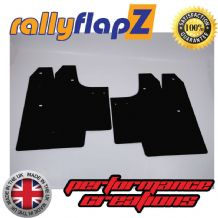 SWIFT 2ND GEN (2008-2010) BLACK MUDFLAPS